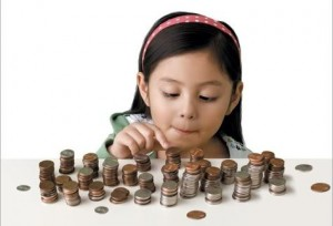 Rockville CPA - Children Saving Money